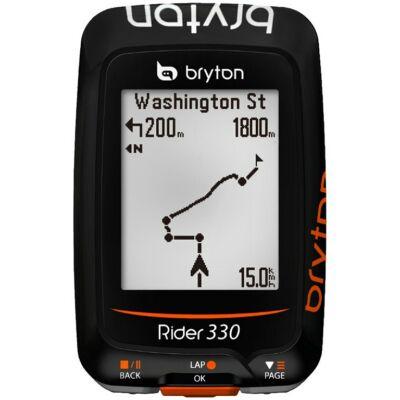 KERÉKPÁRKOMPUTER GPS RIDER 330E BRYTON