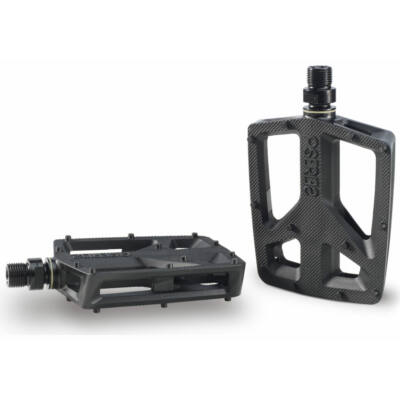 Pedál Plastic P.pedal axle spin control fekete