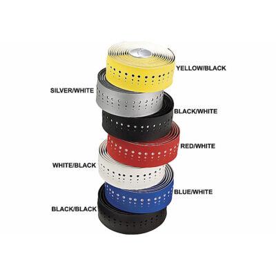Kormányszalag S-wrap classic synthetic leather tape wht/fekete