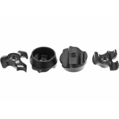 nyeregszár bilincs anodize pave clamp fekete 7+9mm