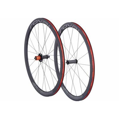 Kerék 700C E+H Rapide clx 40 wheelset char/fekete eur