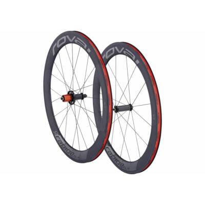 Kerék 700C E+H Rapide clx 60 wheelset char/fekete eur