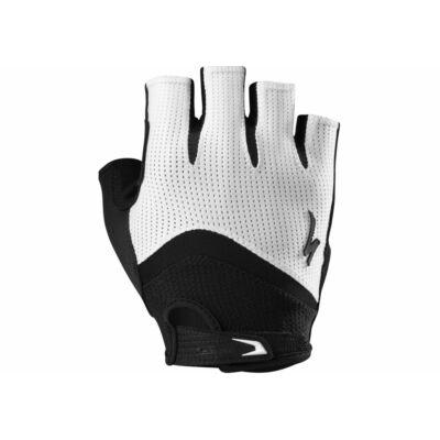 kesztyű Bg gel  fehér/fekete XL