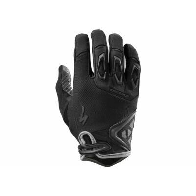 kesztyű Enduro  fekete/carbon  XL