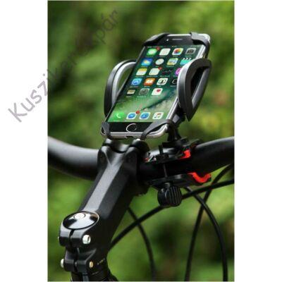 Telefontartó kerékpár kormányra