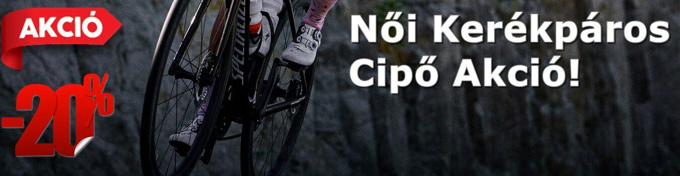 Női kerékpáros cipő akció