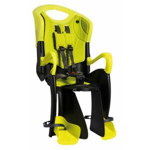 Gyermekülés BIKEFUN TIGER RELAX Hi-Viz szürke-fluo sárga