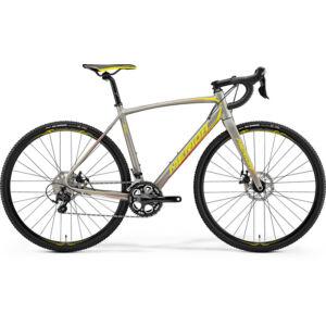 MERIDA 2018 CYCLO CROSS 400 M/L(54) SELYEM TITÁN (SÁRGA/PIROS)