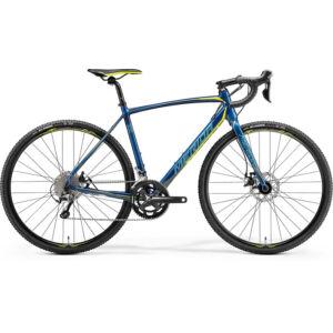 MERIDA 2018 CYCLO CROSS 300 XL(59) PETROL KÉK(SÁRGA)