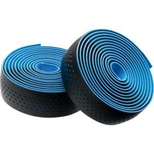 Kormánybandázs MERIDA MICROFIBER kék, végdugóval, Shockproof 210 cm - 6339