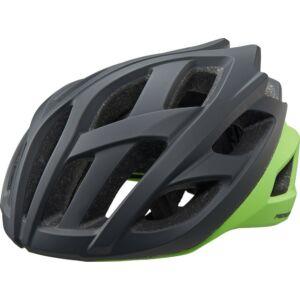 Fejvédő MERIDA ROAD RACE fekete/zöld - 8131