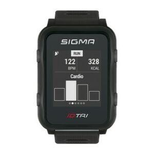 Pulzusmérő SIGMA iD.TRI fekete