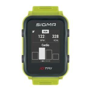 Pulzusmérő SIGMA iD.TRI neon zöld
