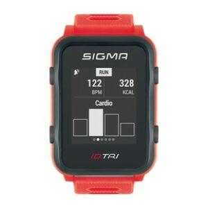 Pulzusmérő SIGMA iD.TRI neon piros