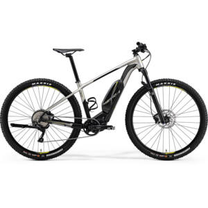 MERIDA 2018 eBIG.NINE 600 XL(53) MATT TITÁN/FEKETE(LIME)