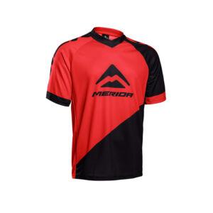 Mez MERIDA rövid piros/fekete V-nyakú Freeride/Enduro - 740802-F196R