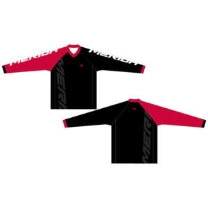Mez MERIDA 2015 hosszú F45Red S piros fehér/fekete V Freeride Enduro