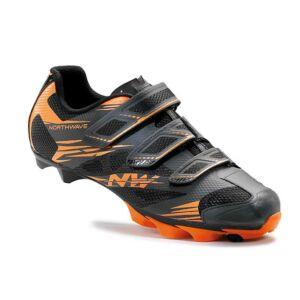Cipő NORTHWAVE MTB SCORPIUS 2 3S 45,5 antracit-narancs