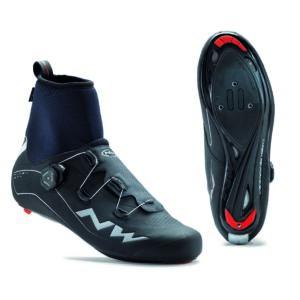 Cipő NORTHWAVE ROAD FLASH GTX 46 téli, fekete