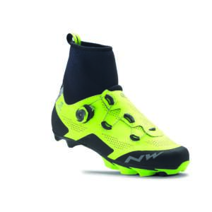 Cipő NORTHWAVE MTB RAPTOR ARCTIC GTX 40, téli, fluo sárga-fekete