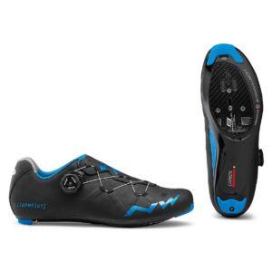 Cipő NORTHWAVE ROAD EXTREME GT 42 fekete-kékmetál