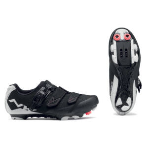Cipő NORTHWAVE MTB SPARKLE 2 SRS 39 női, fekete/fehér