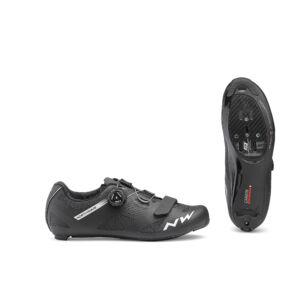 Cipő NORTHWAVE ROAD STORM CARBON 47 fekete