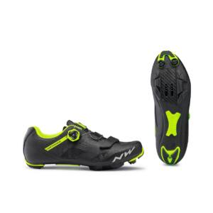 Cipő NORTHWAVE MTB RAZER 43,5 fekete-fluo sárga