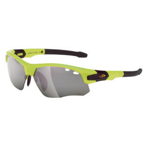 Szemüveg NORTHWAVE GALAXY cserélhető lencsék 3:multi zöld/színtelen/narancs keret: sárga fluo/fekete