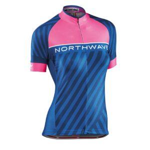 Mez NORTHWAVE LOGO3 WMN női rövid M pink fluo-kék