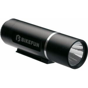 Lámpa BIKEFUN SOLAR 3 első 1W fehér LED, 2 funkció - JY-246-3W(3 LED