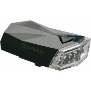 Lámpa BIKEFUN SQUARE első 4 fehér LED, 3 f