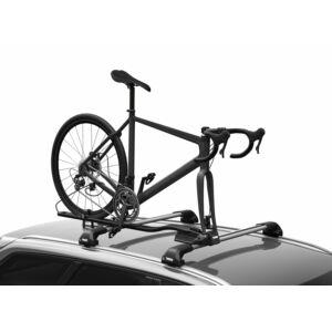Kerékpárszállító THULE FASTRIDE 564 tetőre 1krp villarögzítéses átütőtengelyes