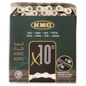 Lánc KMC X10 ezüst 1/2x1/128 112L