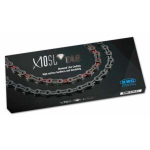 Lánc KMC X10 SL DLC 1/2x1/128 116L