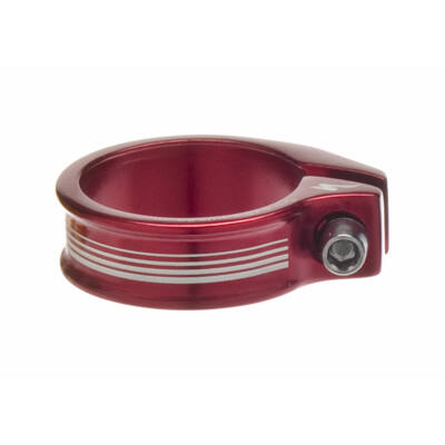 nyeregszár bilincs Anodize seat collar bolt-on red 37mm