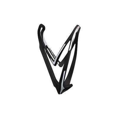 Kulacstartó Rib cage rd/MTB matte fekete/fehér