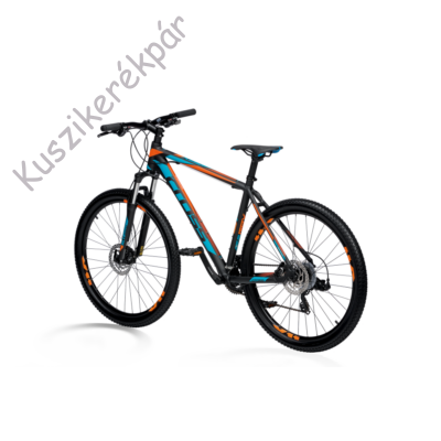 KRP GRX 7 MTB 29 FEKETE/KéK/NARANCS 460 2019