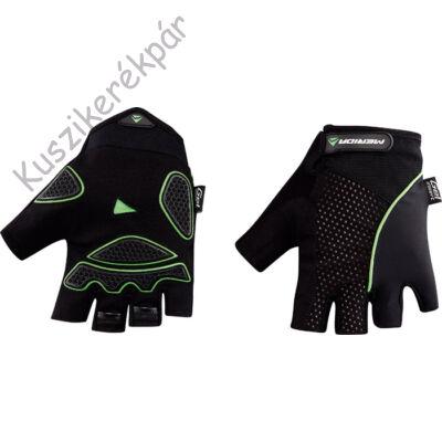 Kesztyű MERIDA LIGHT SPORT rövid M fekete/ zöld