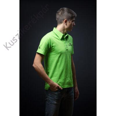 Polo MERIDA STYLE EDITION rövid gallér zöld