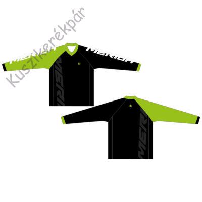 Mez MERIDA hosszú zöld fehér/fekete V Freeride Enduro - 740810-F43GR