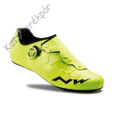 Cipő NORTHWAVE ROAD EXTREME RR 42 sárga fluo