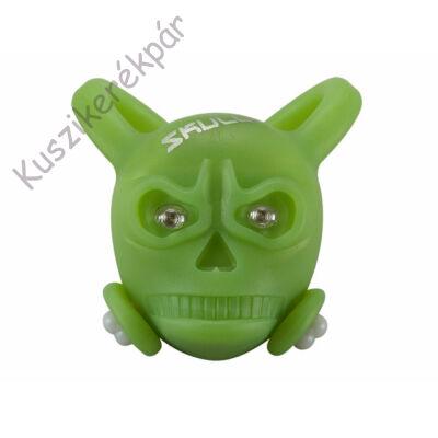 Lámpa BF hátsó villogó Skully zöld