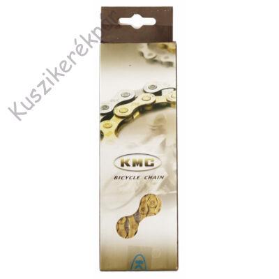Lánc KMC X10 arany 1/2x1/128 112L