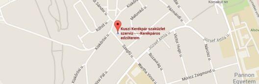 Kuszi Kerékpár - Veszprém
